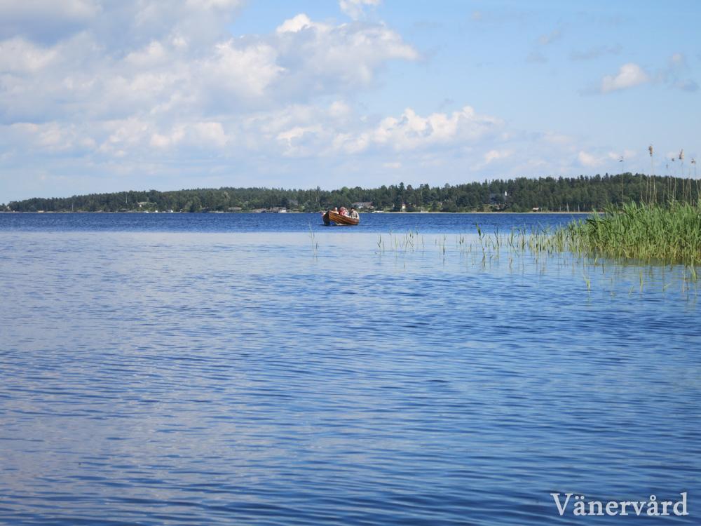Ute på Hammarösjön