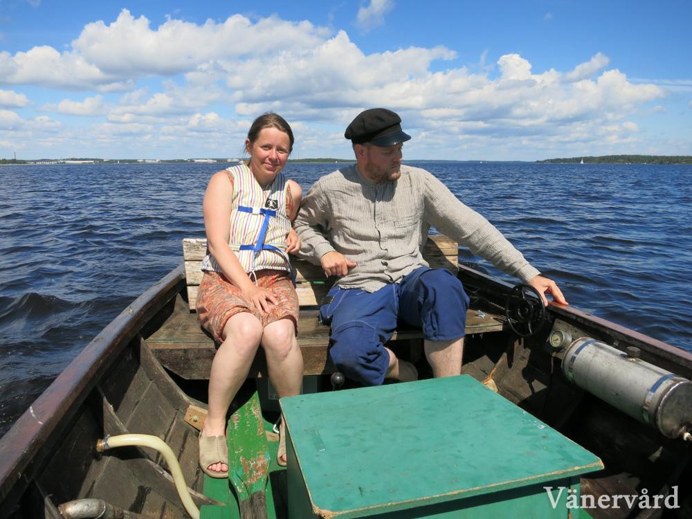 Glada miner på Hammarösjön. Fantastisk fin dag med lagom vind och temperatur.