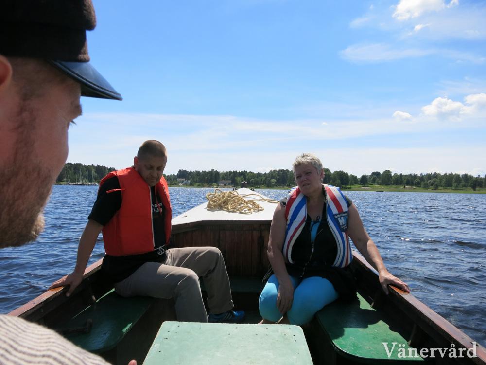 En guidad tur ut med Hammars Udde. Vi såg bland annat fiskgjuse, kärrhök och fisktärna.