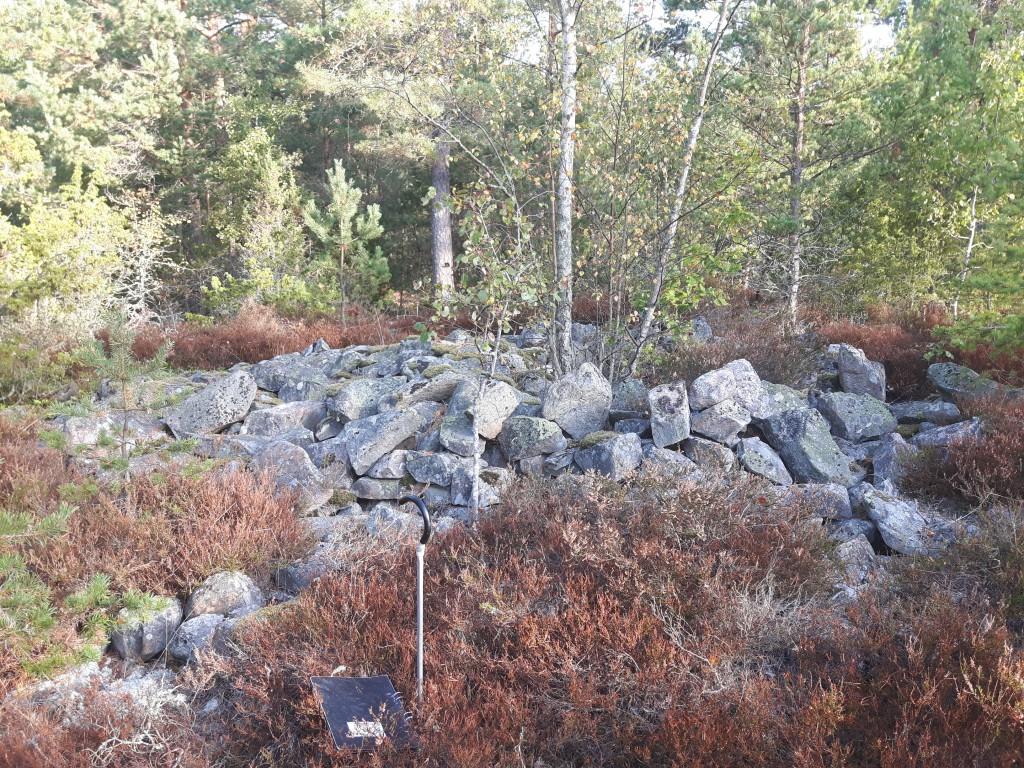 Bronsåldersgrav från Värmlandsnäs.